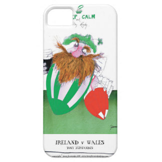 ireland v wales rugby balls tony fernandes barely there iPhone 5 case