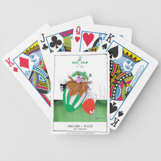 ireland v wales rugby balls tony fernandes bicycle playing cards