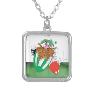 ireland v wales rugby balls tony fernandes silver plated necklace