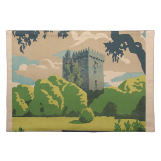 Ireland Vintage Travel Placemat