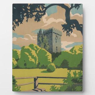Ireland Vintage Travel Plaque
