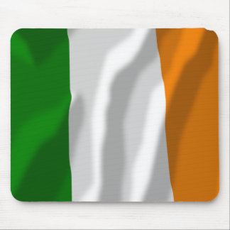 Ireland Waving Flag Mouse Pads