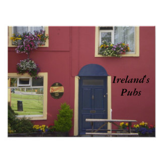 Ireland's Pubs poster