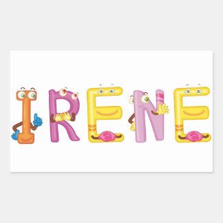 Irene Sticker