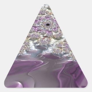 Irenic Abjurer Fractal 12 Triangle Sticker