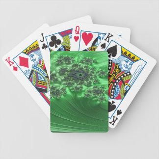 Irenic Abjurer Fractal 3 Bicycle Playing Cards