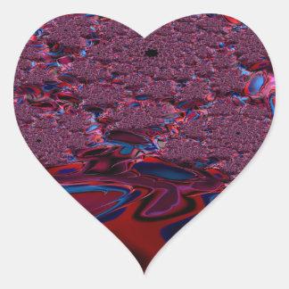Irenic Abjurer Fractal 8 Heart Sticker