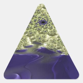 Irenic Abjurer Fractal 9 Triangle Sticker