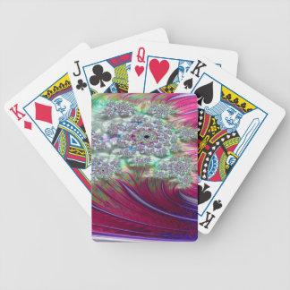 Irenic Abjurer Fractal Bicycle Playing Cards