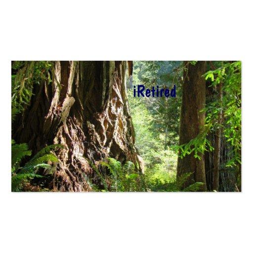 iRetired Business cards Retirement Retired