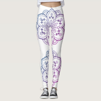 iRi Vibes- Mandala leggings (Enchanted Forest)