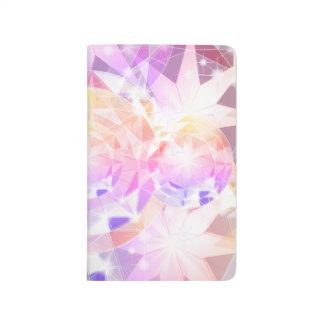 Iridescence Pink Lavender Compass Rhinestone Journal