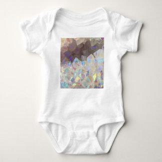 Iridescent Aura Crystals Baby Bodysuit