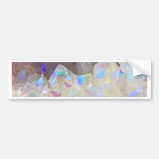 Iridescent Aura Crystals Bumper Sticker
