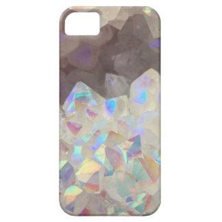 Iridescent Aura Crystals iPhone 5 Case