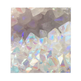 Iridescent Aura Crystals Notepad