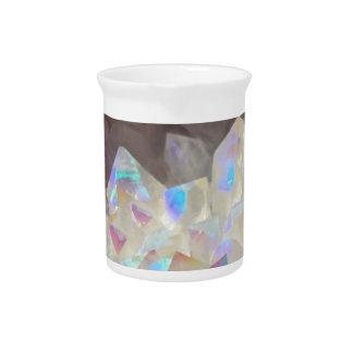 Iridescent Aura Crystals Pitcher