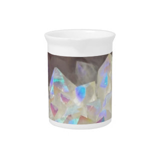 Iridescent Aura Crystals Pitcher