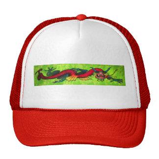 Iridescent Dragon mesh-back cap