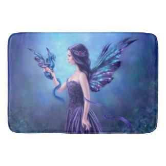 Iridescent Fairy & Dragon Art Bath Mat