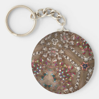 Iridescent gems keychains