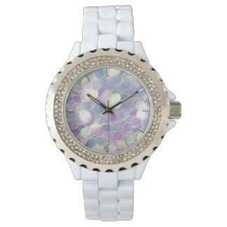 Iridescent Glitter Watch