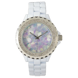 Iridescent Glitter Watches