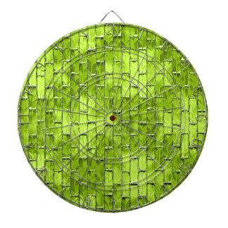 Iridescent Green Bricks Dartboard