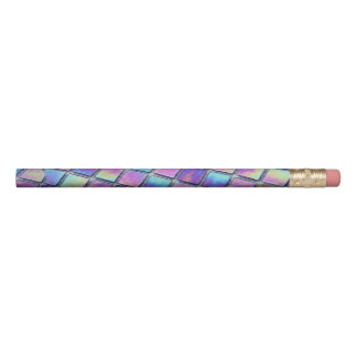 Iridescent Holo Trippy Oilslick Rainbow Pencil