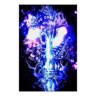 Iridescent Parisian Dreams of th Ones that Love Us Poster