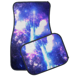 Iridescent Parisian Sky Car Mat