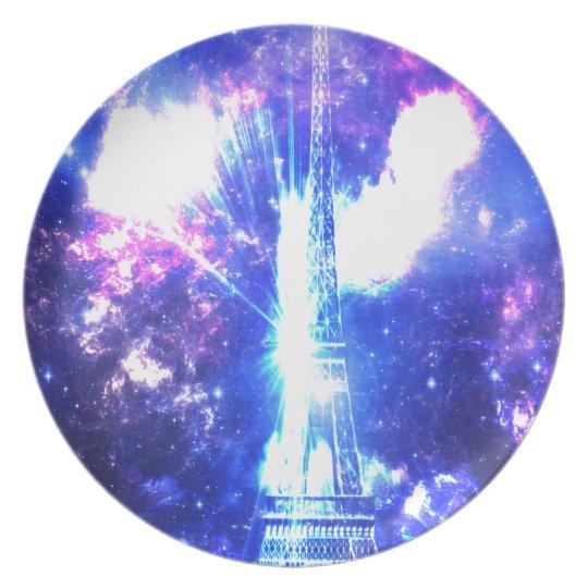 Iridescent Parisian Sky Dinner Plates