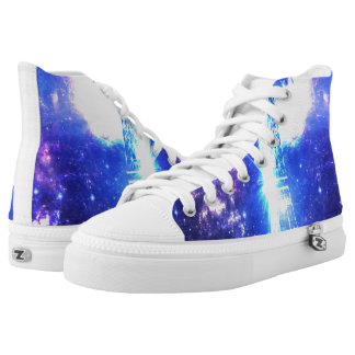 Iridescent Parisian Sky High Tops