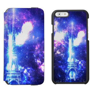 Iridescent Parisian Sky Incipio Watson™ iPhone 6 Wallet Case