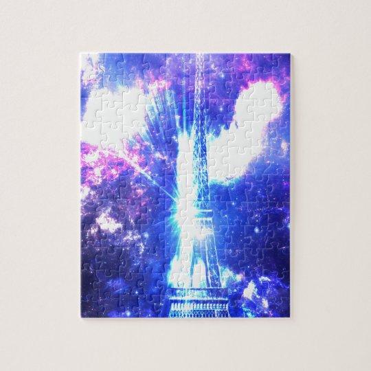 Iridescent Parisian Sky Jigsaw Puzzle