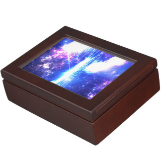 Iridescent Parisian Sky Keepsake Box