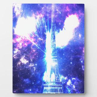 Iridescent Parisian Sky Plaque