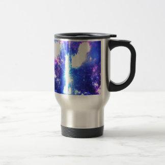 Iridescent Parisian Sky Travel Mug