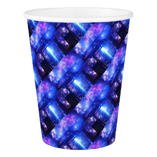 Iridescent Pathway to Anywhere Paper Cup