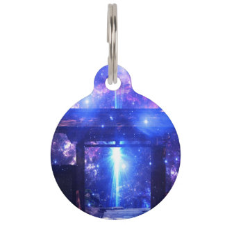 Iridescent Pathway to Anywhere Pet Tag