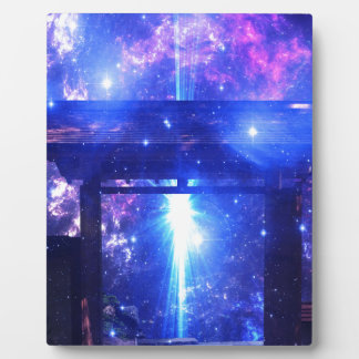 Iridescent Pathway to Anywhere Plaque