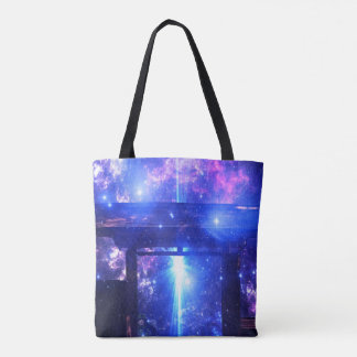 Iridescent Pathway to Anywhere Tote Bag
