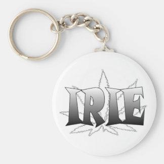 irie basic round button key ring