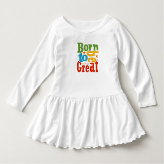 IRIE KIDZ®  'Born to be Great' Toddler Dress