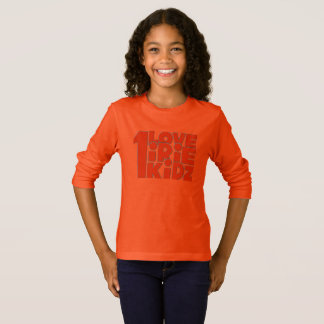 IRIE KIDZ® One Love Long Sleeve Girls T-Shirt