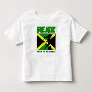 IRIE KIDZ® 'Rasta Child' and Jamaican flag T-Shirt