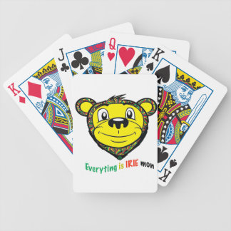 Irie mon bicycle playing cards