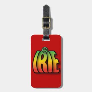 IRIE Peace Luggage Tag