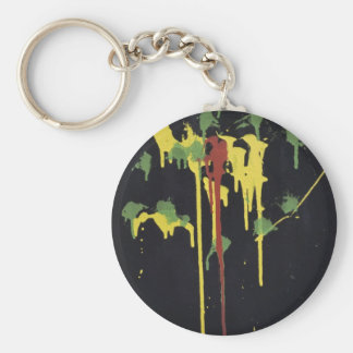 Irie Tears Basic Round Button Key Ring