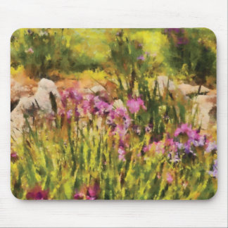 Iris - A Tribute to Monet Mouse Pads